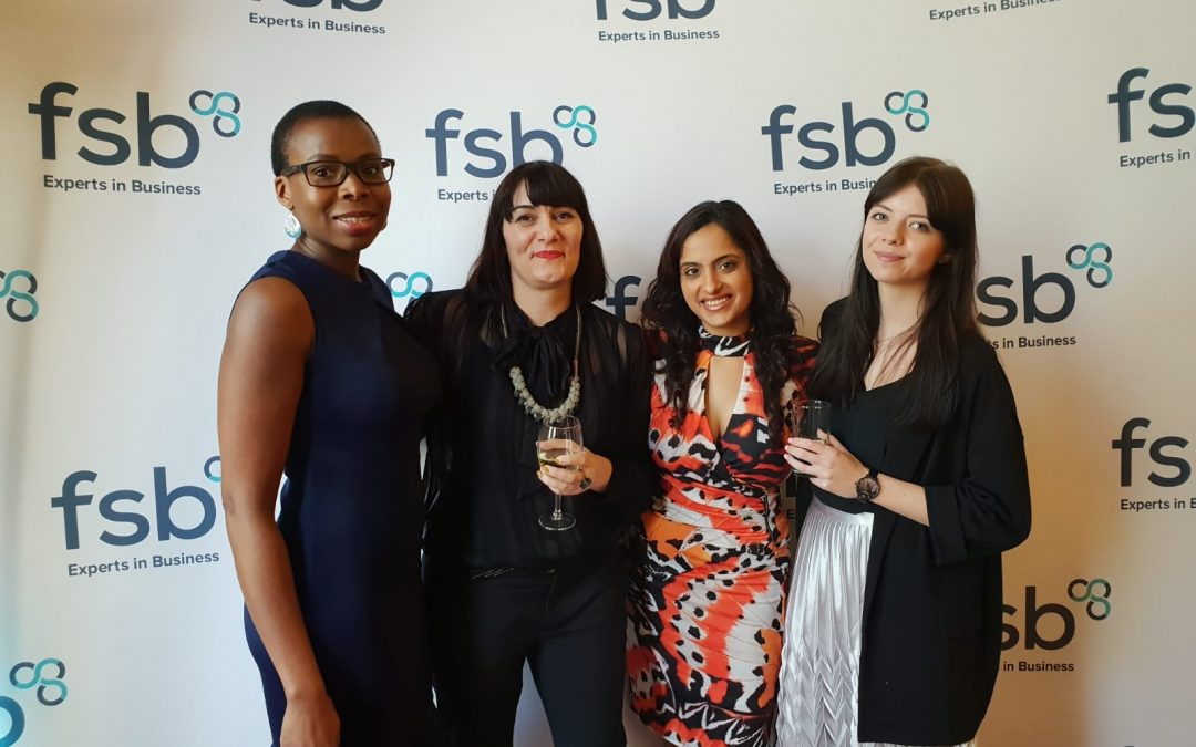 Proud Finalists at the FSB Awards 2019 as 'Employer of the Year'